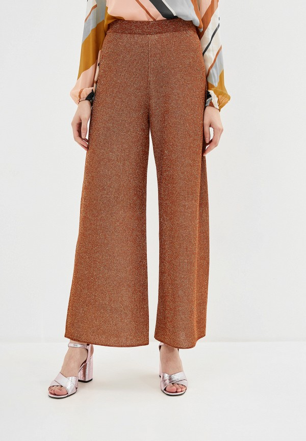 женские брюки pennyblack, коричневые