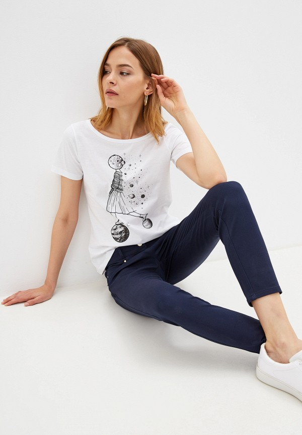 женская футболка pennyblack, белая