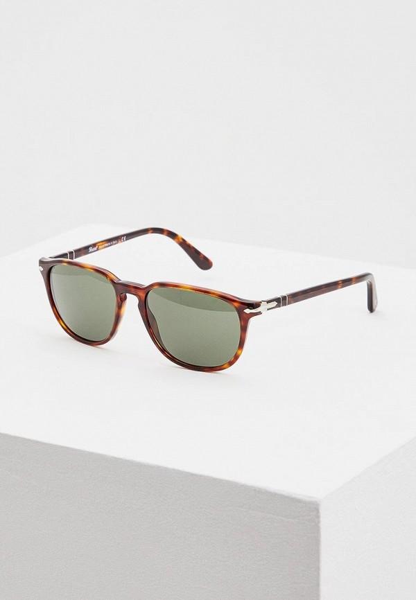 мужские солнцезащитные очки persol, коричневые