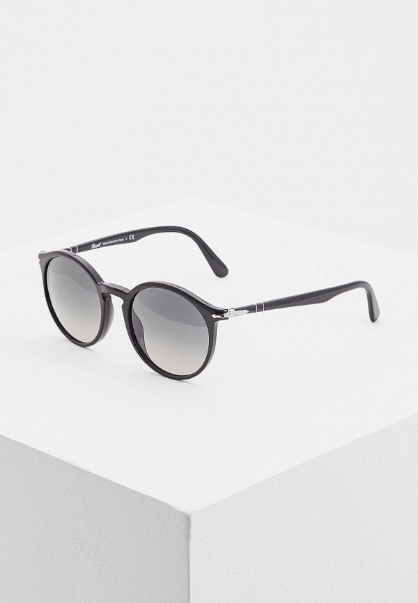 женские солнцезащитные очки persol, черные