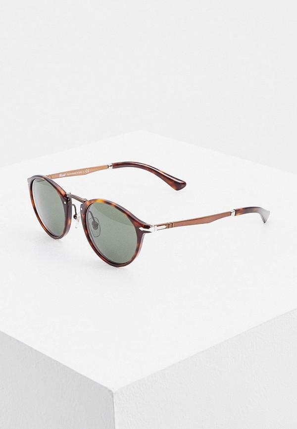 женские солнцезащитные очки persol, коричневые