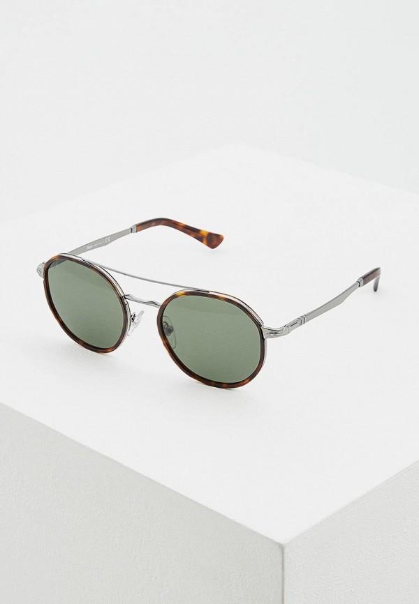 женские солнцезащитные очки persol, зеленые
