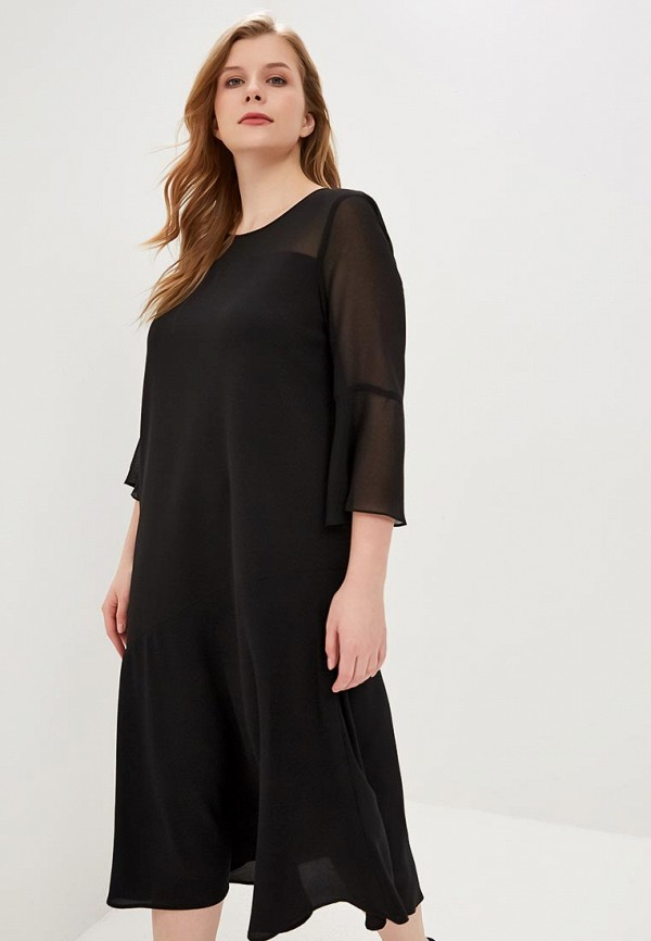 цена Платье Persona by Marina Rinaldi Persona by Marina Rinaldi PE025EWDNWD6 онлайн в 2017 году