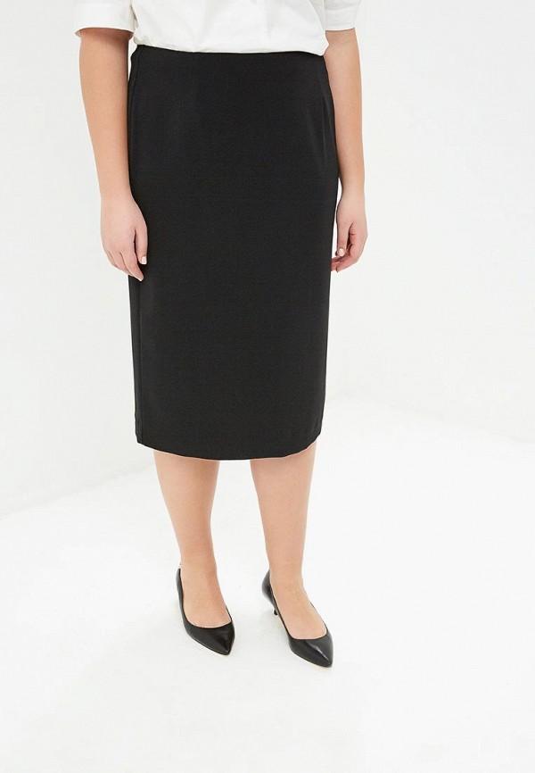 женская зауженные юбка persona by marina rinaldi, черная