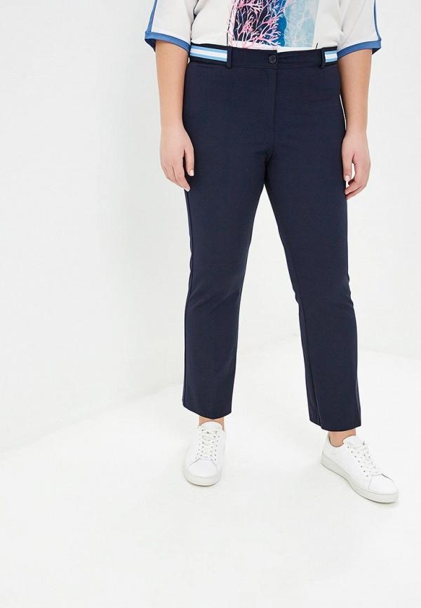 женские брюки marina sport x marina rinaldi, синие