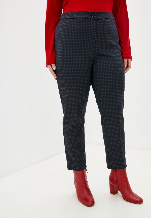 женские классические брюки persona by marina rinaldi, фиолетовые