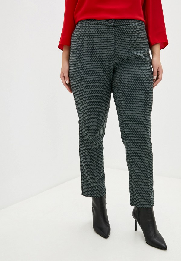 женские классические брюки persona by marina rinaldi, серые