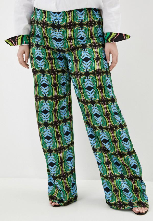 женские повседневные брюки persona by marina rinaldi, разноцветные