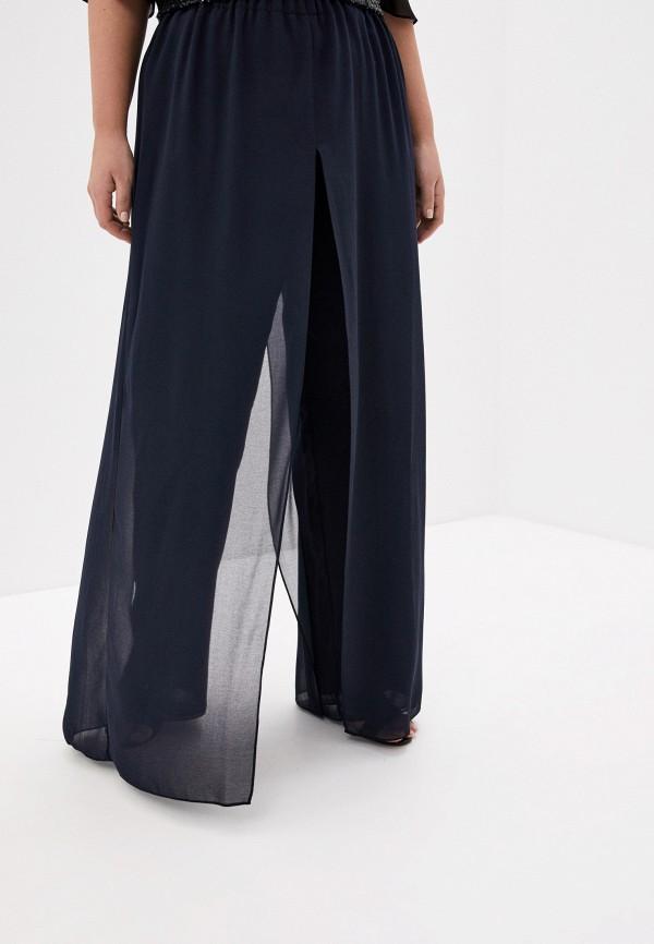 женские повседневные брюки persona by marina rinaldi, синие