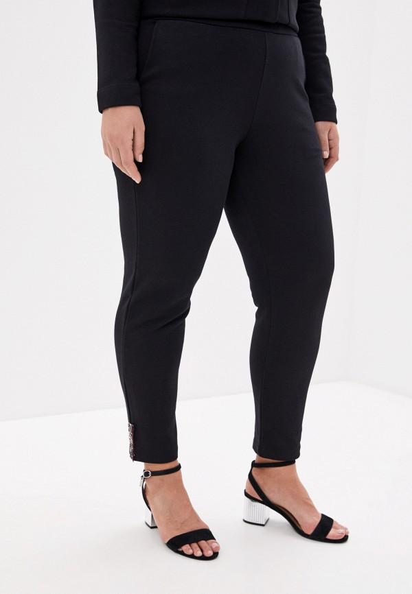 женские спортивные брюки persona by marina rinaldi, черные