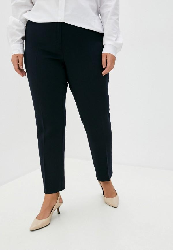 женские классические брюки persona by marina rinaldi, синие
