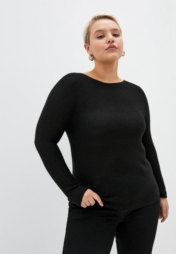 женский джемпер persona by marina rinaldi, черный