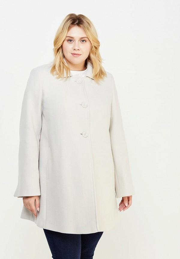 Купить Пальто Persona by Marina Rinaldi, pe025ewurs26, бежевый, Осень-зима 2017/2018