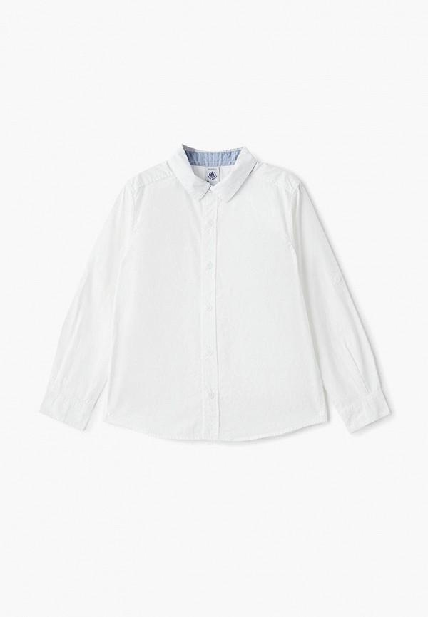 рубашка petit bateau для мальчика, белая