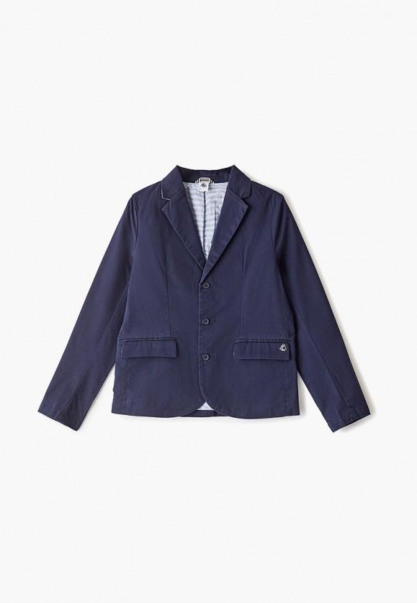 пиджак petit bateau для мальчика, синий