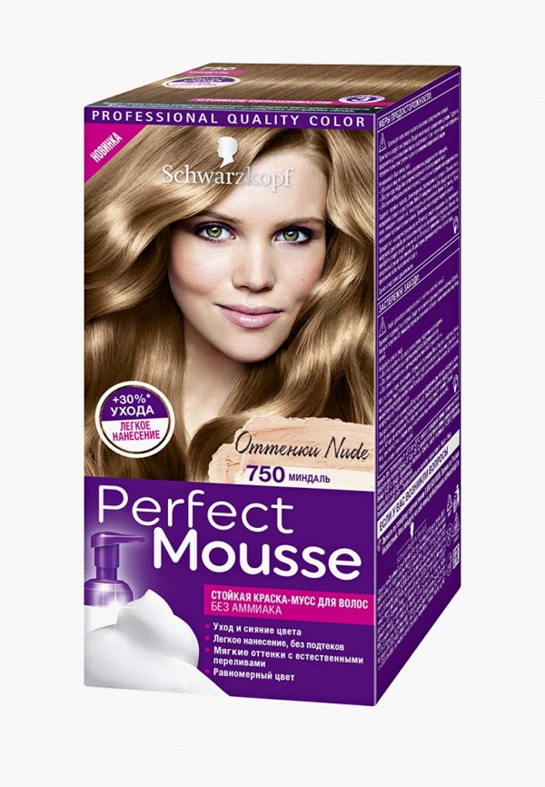 Краска для волос Perfect Mousse Perfect Mousse PE031LMCSDF5 barex volumizing mousse
