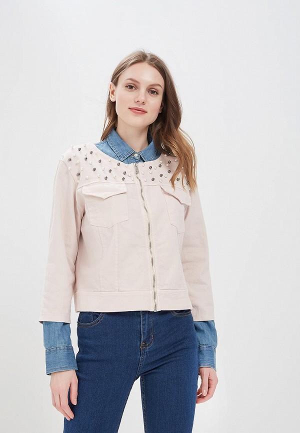 женская куртка perfect j, розовая