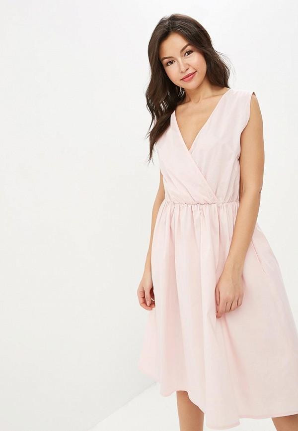 женское повседневные платье perfect j, розовое