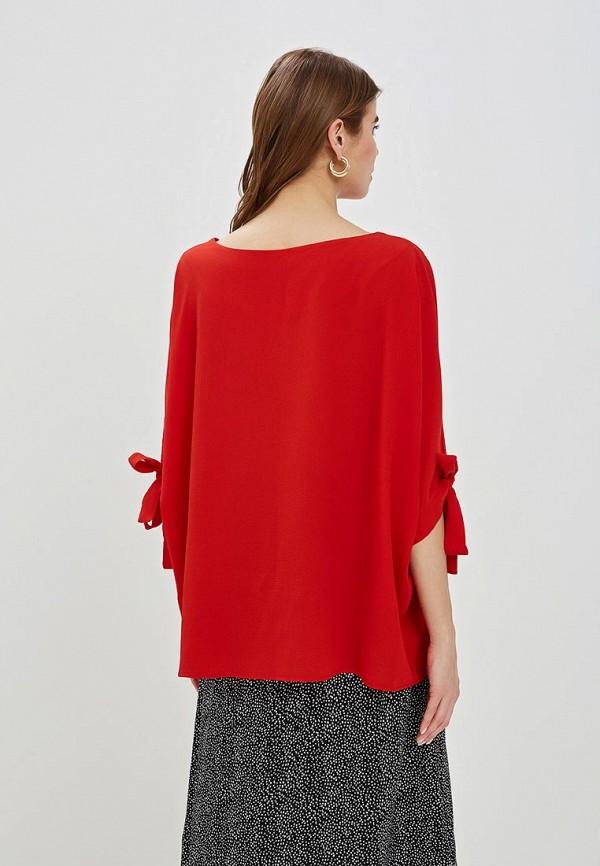 Фото 3 - женскую блузку Perfect J красного цвета