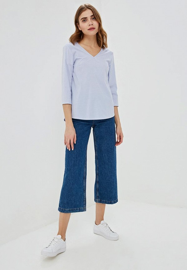 Фото 2 - женскую блузку Perfect J голубого цвета