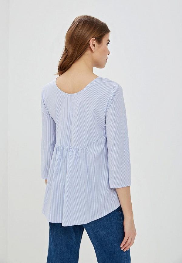 Фото 3 - женскую блузку Perfect J голубого цвета