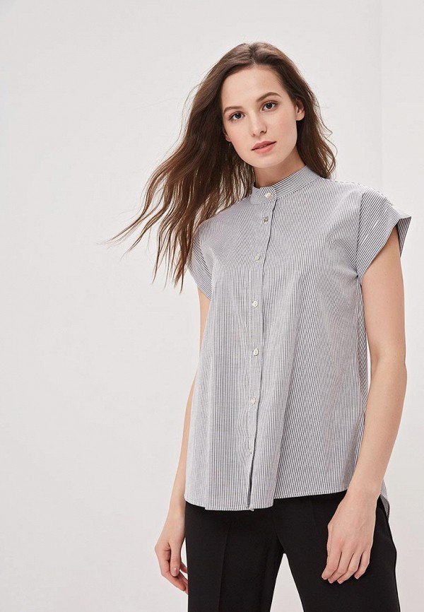 Фото - женскую блузку Perfect J серого цвета