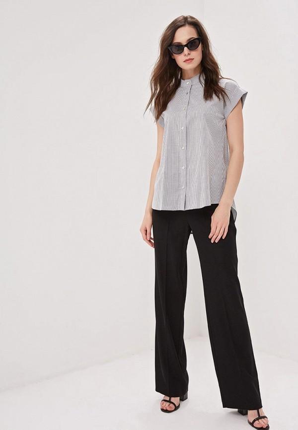 Фото 2 - женскую блузку Perfect J серого цвета