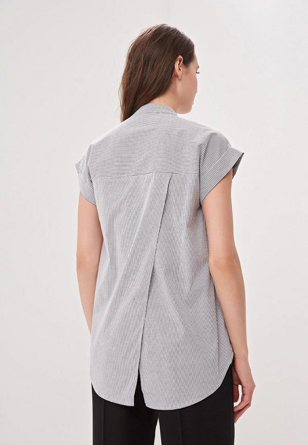 Фото 3 - женскую блузку Perfect J серого цвета