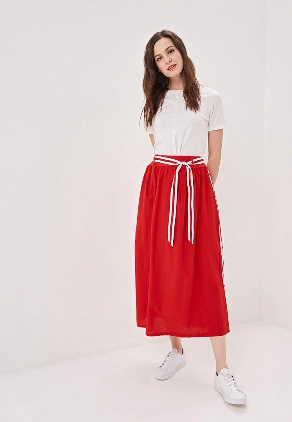 Фото 2 - женскую юбку Perfect J красного цвета