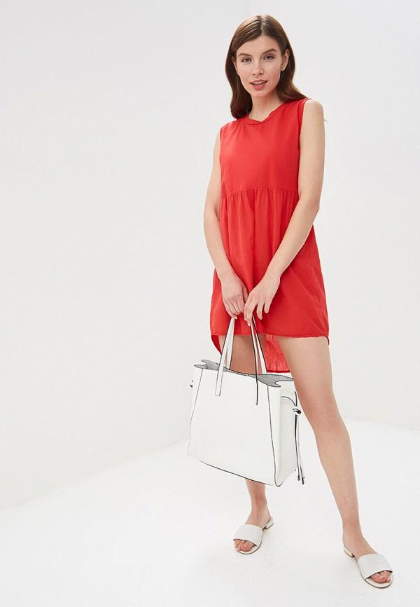 Фото 5 - женское платье Perfect J красного цвета