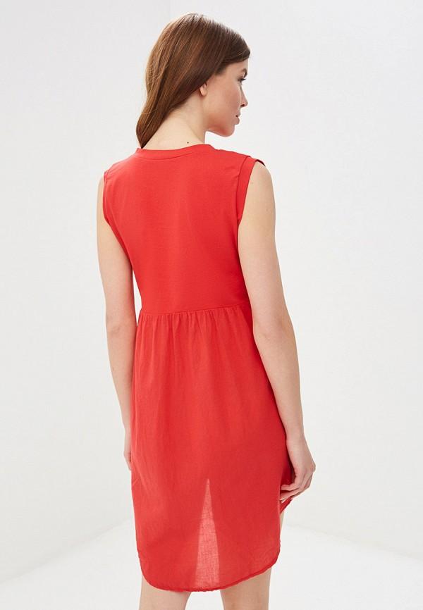Фото 6 - женское платье Perfect J красного цвета