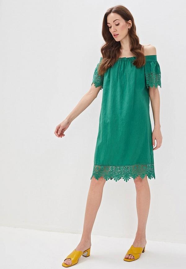 Фото 2 - женское платье Perfect J зеленого цвета