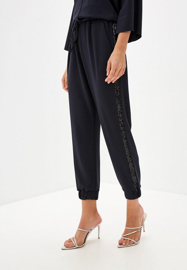 Фото - женские брюки Perfect J синего цвета