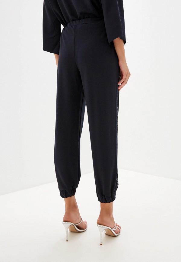 Фото 3 - женские брюки Perfect J синего цвета