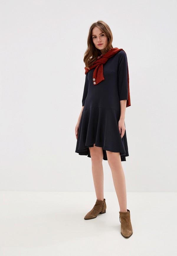 Фото 2 - женское платье Perfect J синего цвета