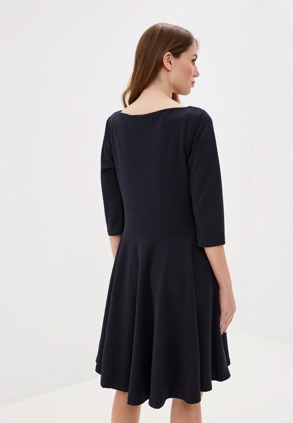 Фото 3 - женское платье Perfect J синего цвета
