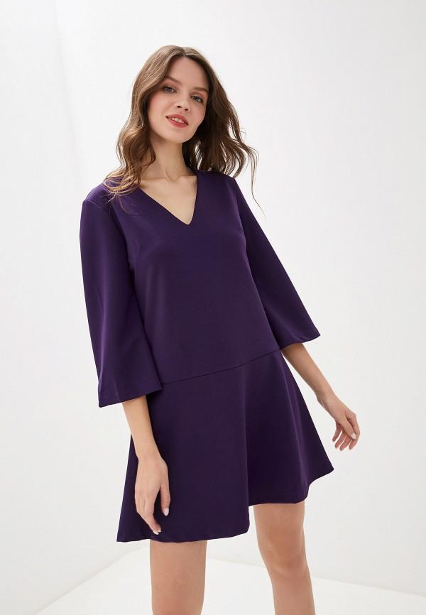 женское повседневные платье perfect j, фиолетовое