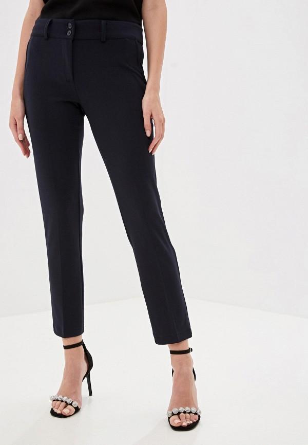 женские классические брюки perfect j, синие