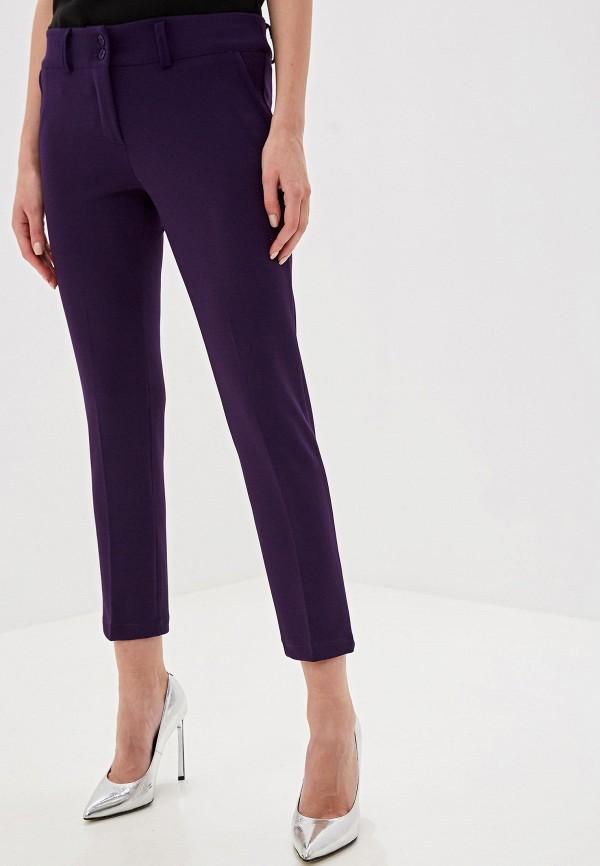 женские классические брюки perfect j, фиолетовые