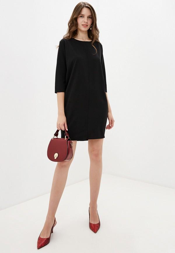 Фото 2 - женское платье Perfect J черного цвета