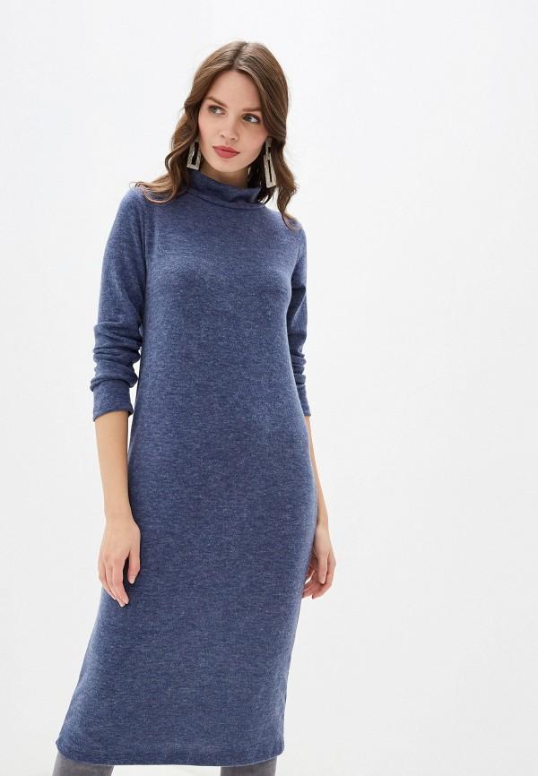 женское платье perfect j, синее