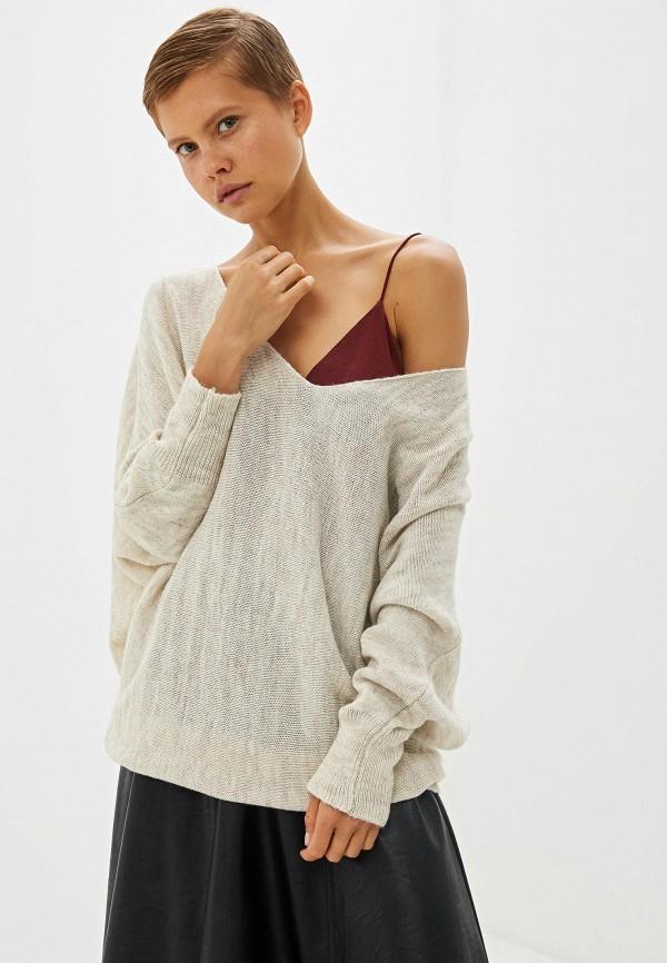 женский пуловер perfect j, бежевый