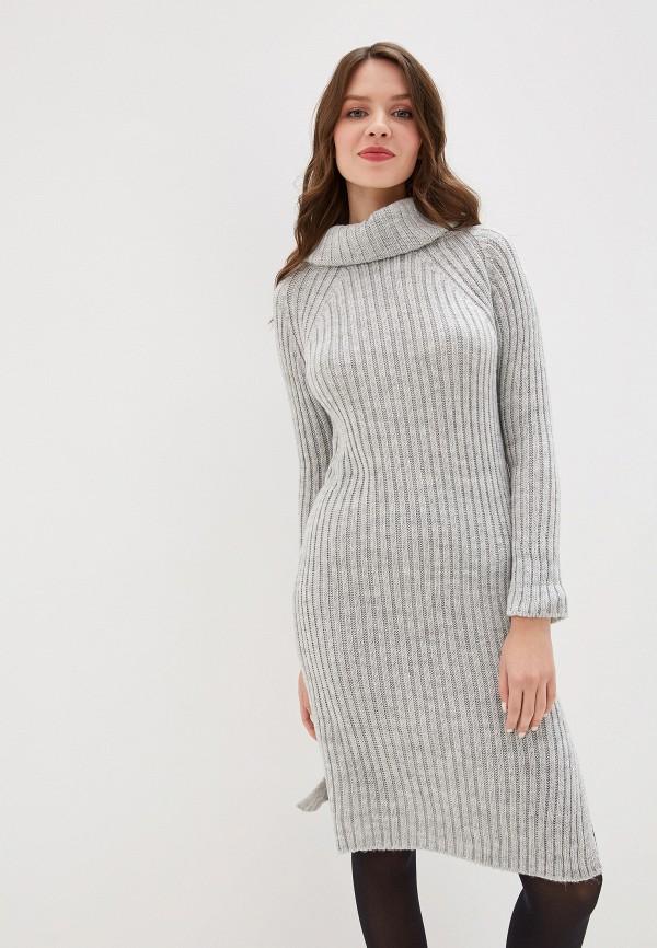 женское платье perfect j, серое