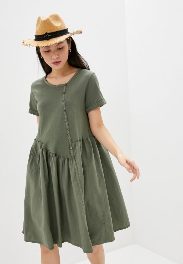 женское повседневные платье perfect j, хаки