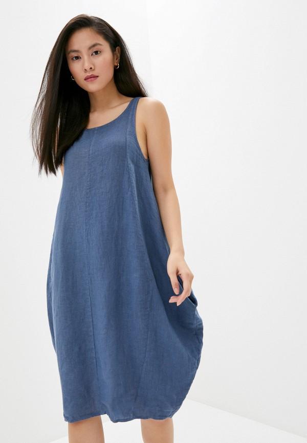 женское повседневные платье perfect j, синее