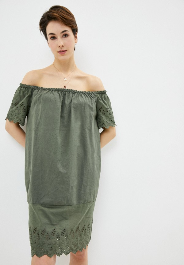 женское платье perfect j, хаки