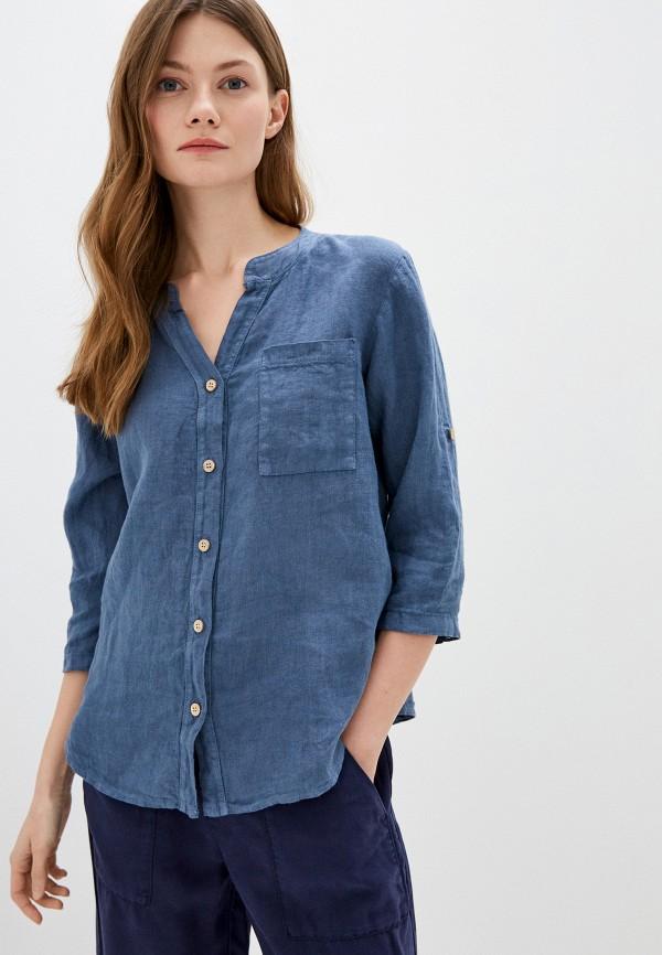 женская блузка perfect j, синяя