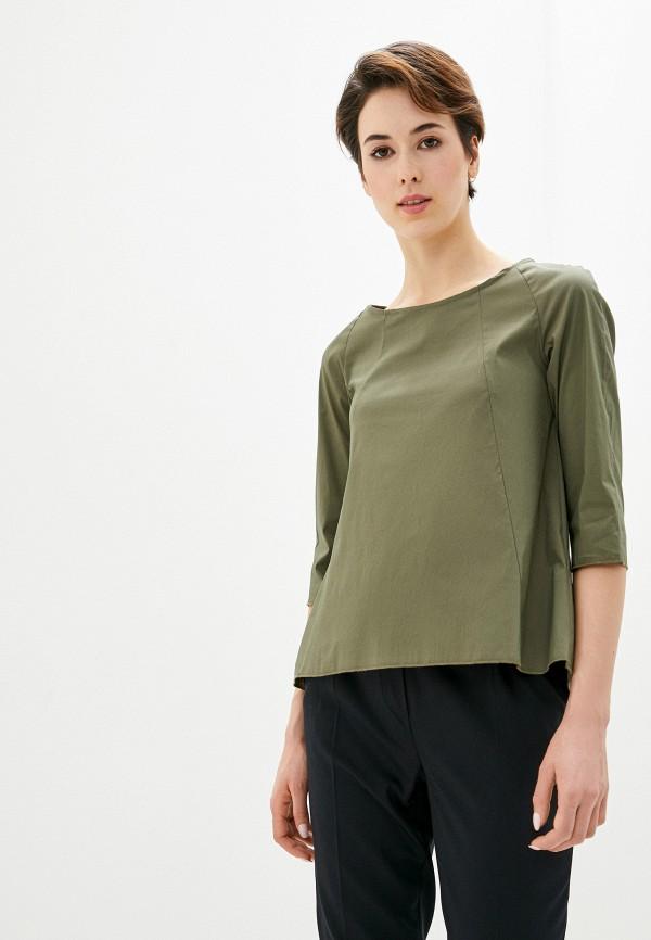 женская блузка perfect j, хаки
