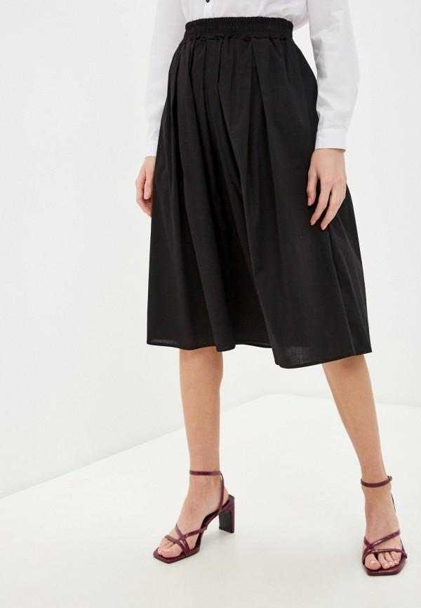 женская юбка perfect j, черная