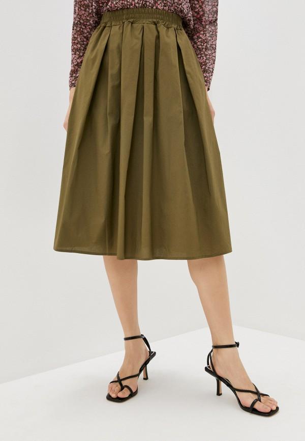 женская юбка perfect j, хаки